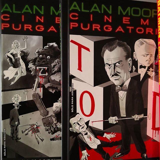 Cinema Purgatorio Hc En Español Varios Tomos Lo último De Alanmoore Y Otros Movie Posters Movies Poster