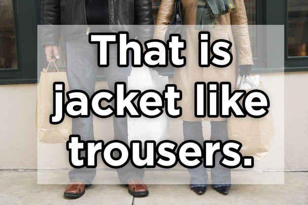 Das ist Jacke wie Hose.