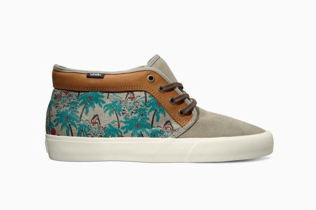"Vans California Spring 2013 Chukka Boot CA ""Hula Camo"""