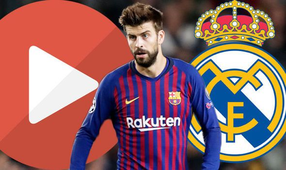 Barcelona Vs Real Madrid Live Stream How To Watch El Clasico Live Online Real Madrid Barcelona Vs Real Madrid Madrid