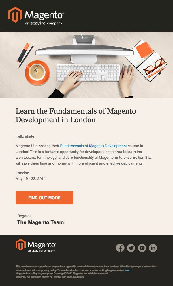 Magento good style email