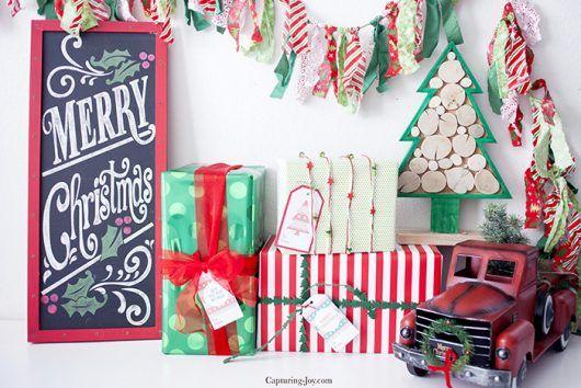 Six Christmas Gift Tags – Free Printables! | I ♥ naptime | Bloglovin'