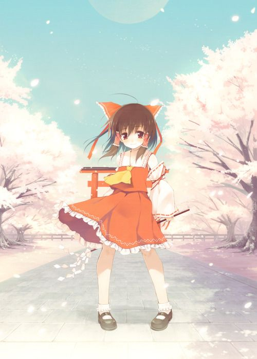 Reimu Hakurei from Touhou #Touhou