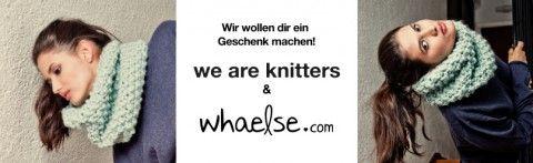 Gewinne ein Strickset mit Jacky von Whaelse und We are Knitters