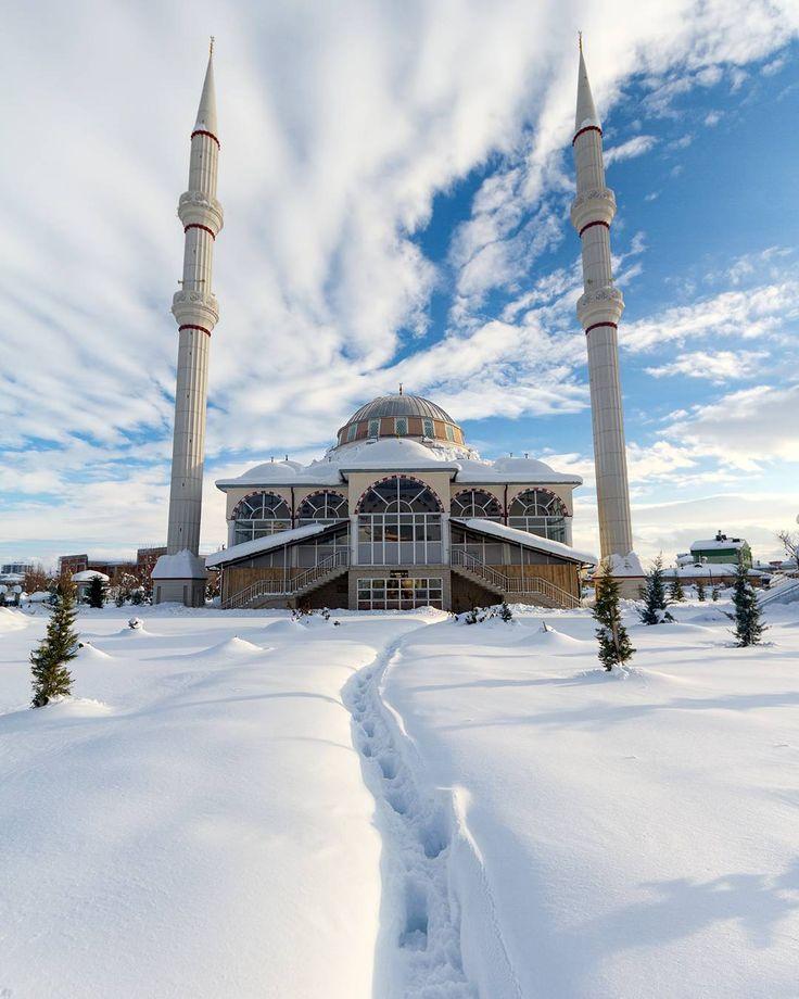Selahaddin Eyyubi Mosque #Sümer #Karaman #Turkey // Photography by Durmuş Ceylan