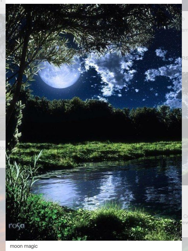 Luna que embruja! ¡Que embeleza!! | Landscapes | Pinterest ...