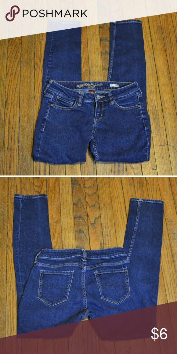 Arizona Jeans 3 short super skinny Arizona Jean Co. Super Skinny Size 3 Short Waist 26 Inseam 27 Arizona Jean Company Jeans Skinny