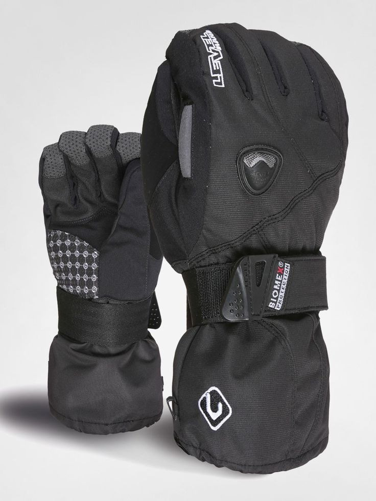 Level Butterfly Snowboard Gloves for Women, with integrated BioMex wrist protection The Level Butterfly snowboard gloves for women offer high-quality wrist prot
