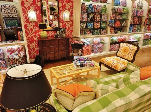 A Vera Bradley store. So CUTE!!!!!!!!!!