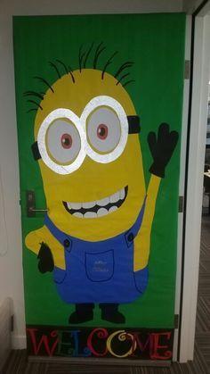 1000+ ideas about Minion Door on Pinterest | Minion Classroom Door ...
