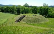 Etowah Indian Mounds State Historic Site 813 Indian Mounds Rd. Cartersville, GA 30120   Home to several thousand Native Americans between 1000 A.D. to 1550 A.D., this 54-acre site contains six earthen mounds, a plaza, village area, borrow pits and a defensive ditch.