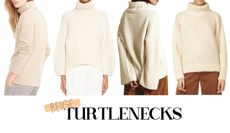 Beige Turtlenecks / Graphic Design