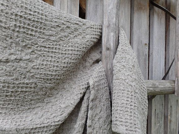 Linen throw Bed cover blanket Bed spread Natural Eco by LimpoNado