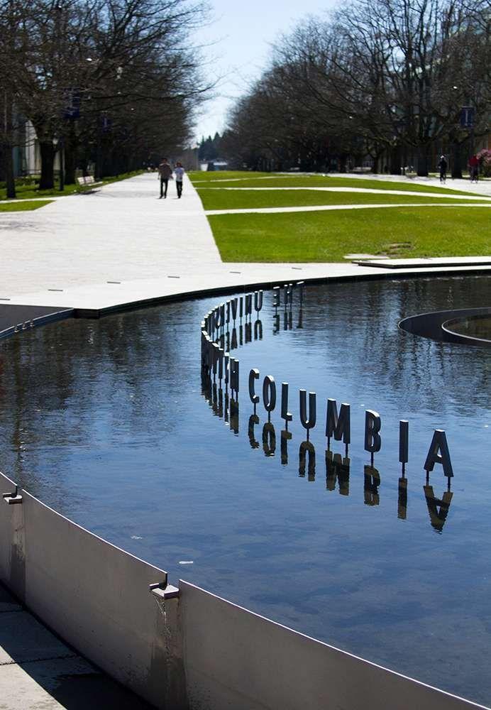 Public: Architecture + Communication | WORK | UBC Main Mall Water Feature