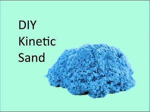 DIY Kinetic Sand : Crafty Tube