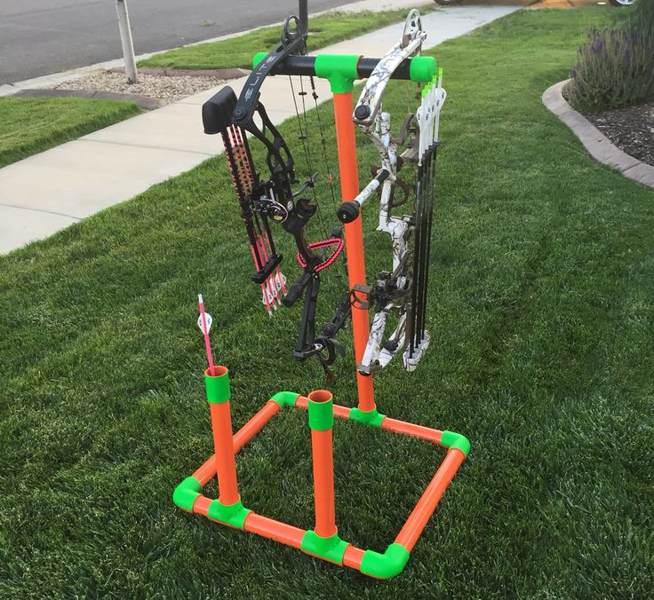 Pvc Projects For The Outdoorsman: 37 Best Ideas About Archery Bow Holders On Pinterest