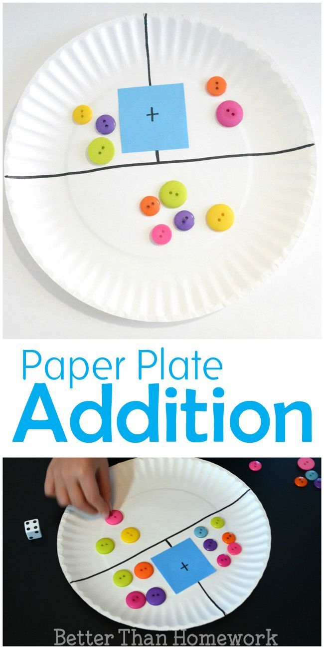 Worksheet Kindergarten Math Help 1000 images about kindergarten math on pinterest stations make a simple diy paper plate addition game to help your child practice their and