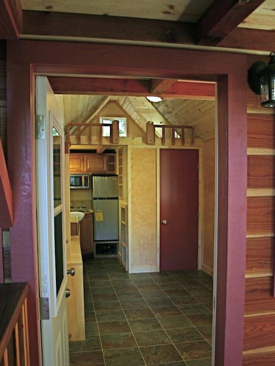 244 Best Houses On Wheels Images On Pinterest Tiny House Cabin