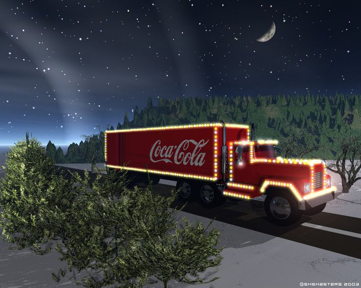 Coke Christmas Wallpaper - WallpaperSafari