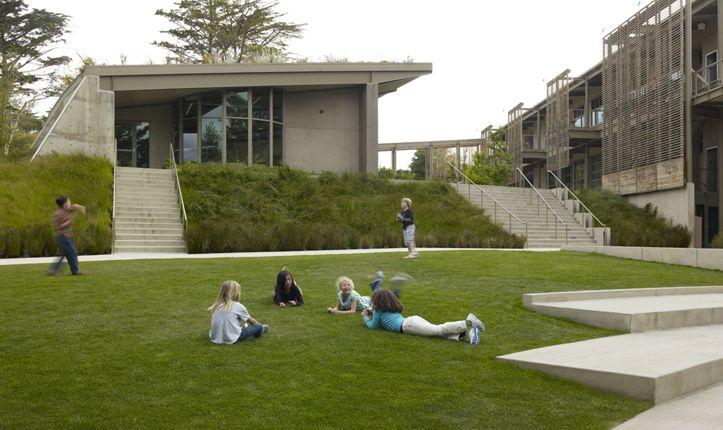 nueva school, hillsborough california | steps, stairs & ramps
