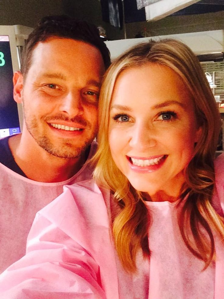 Justin Chambers and Jessica Capshaw -  so cute! Love Arizona and Alex