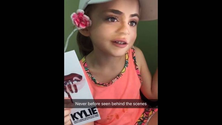 """BEHIND THE SCENES FOOTAGE OF """"LIL"""" KYLIE JENNER!"""