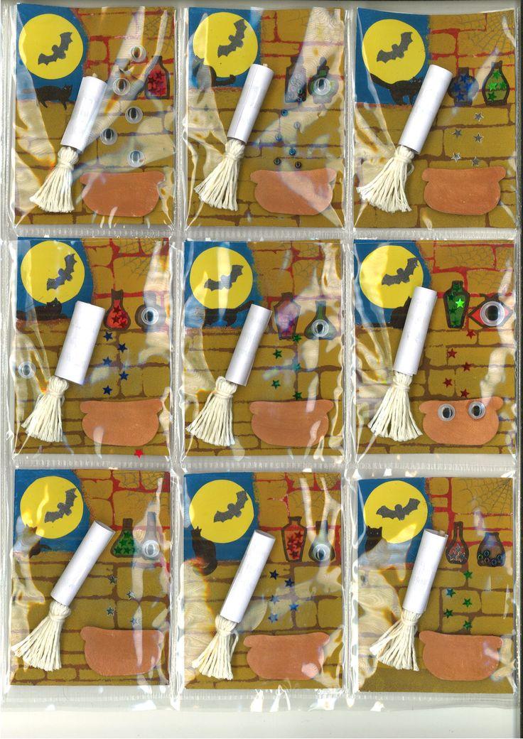 Witch, čarodějnice, čarodějnická, ATC, art trading cards