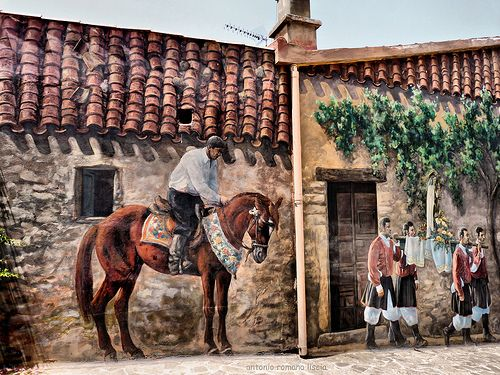 Murale  Sardegna   #TuscanyAgriturismoGiratola