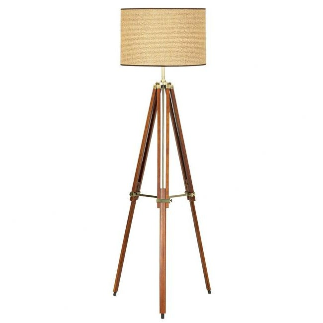 "$219.91 Pacific Coast Lighting PCL Tripod 1 Light Floor Lamp Dimensions: 57"" H x 16"" W"