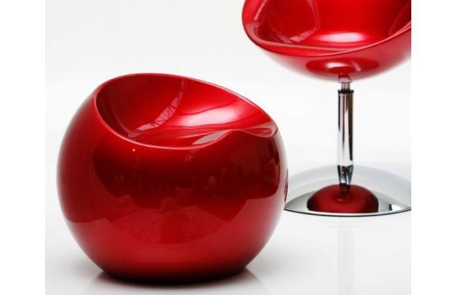 #pouf #design #rosso