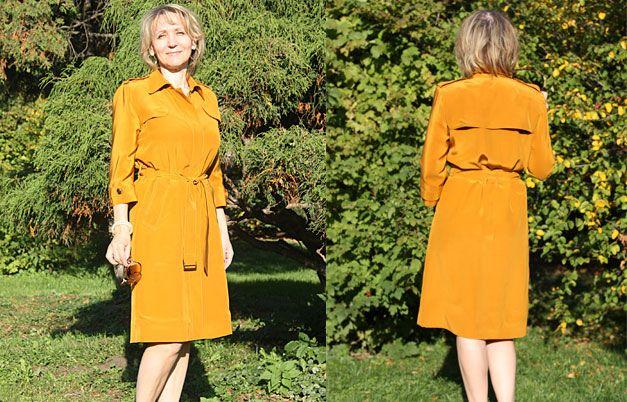 Шьем платье в стиле Burberry #мастеркласс #burdastyle #burda