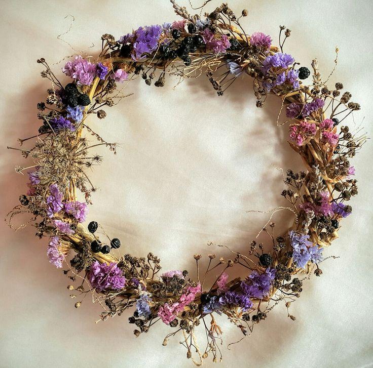 Purple Mood wreath  #wreath #narjess #craftyfeelings