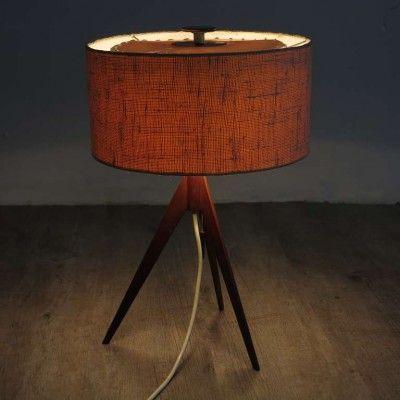Swedish Table Lamp By Uno U0026 Östen Kristiansson For Luxus, 1958
