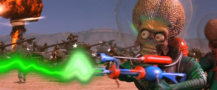 Mart Attacks Mars Attacks