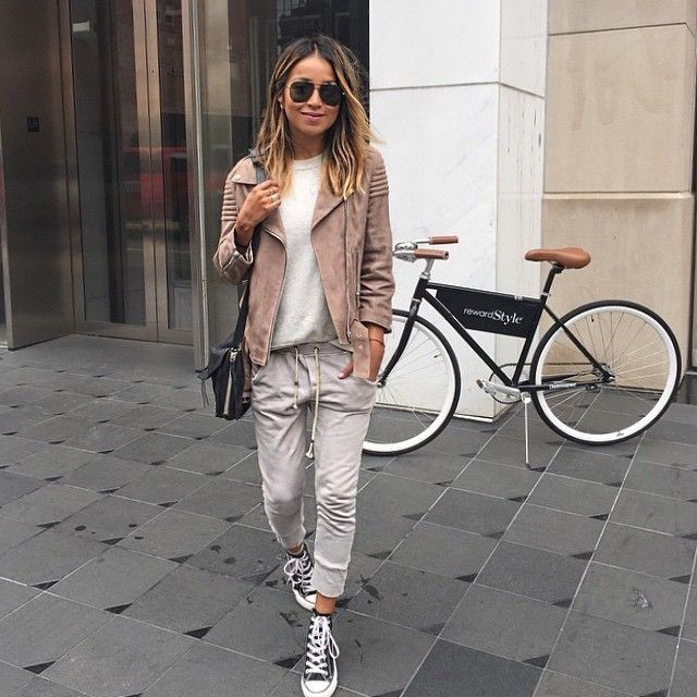 @sincerelyjules in @ragdoll_la Track Pants #imaragdoll