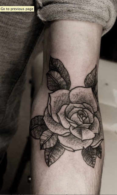 Black and gray rose... nicely done.. I havent considered flowers before, but this would make me reconsider