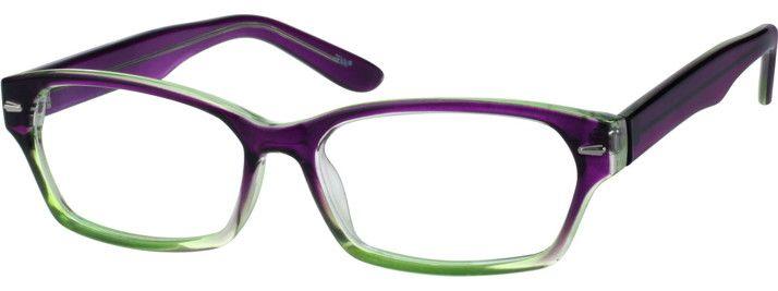 PurpleWomen's Rectangular Eyeglasses123517