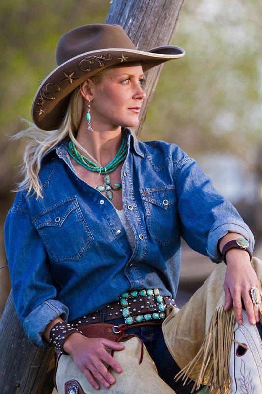 American cowgirl chicks — photo 13