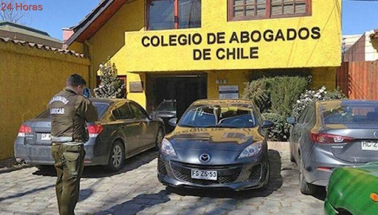 Sujetos roban a Colegio de Abogados ubicado frente a Comisaría de Carabineros en Talca