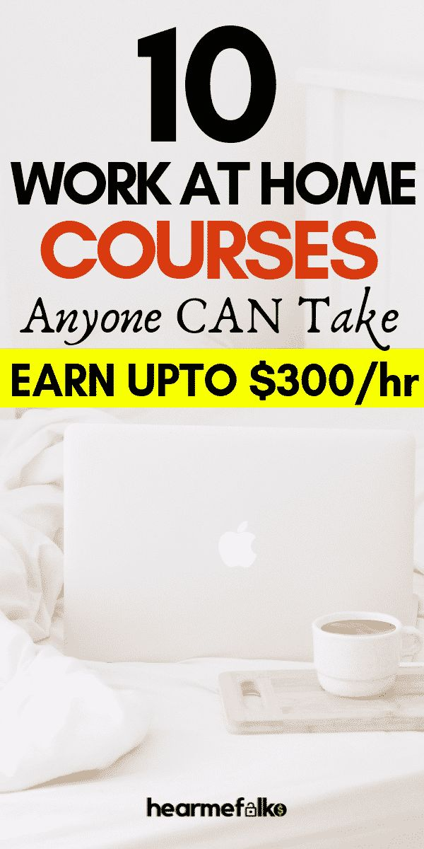 10 Most Desired Work from Home Online Courses [2019-Edition]