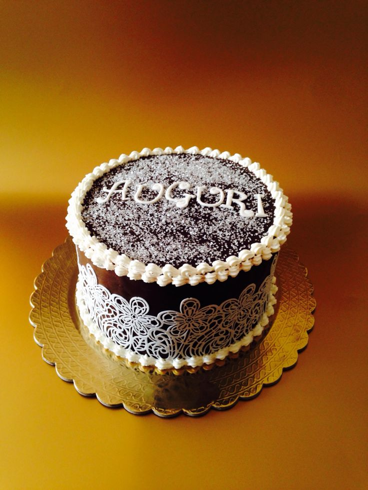 Cake al cioccolato fondente