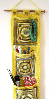 Crocheted Wall Hanging Pocket | 19 Impossibly Clever Knitting And Crochet Patterns
