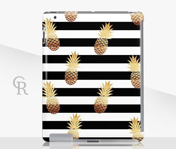 Pineapple iPad Case For  iPad 2 iPad 3 iPad 4 and iPad