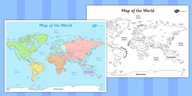 This World Map Poster can be used for many subjects twinkl – Map World Ks1