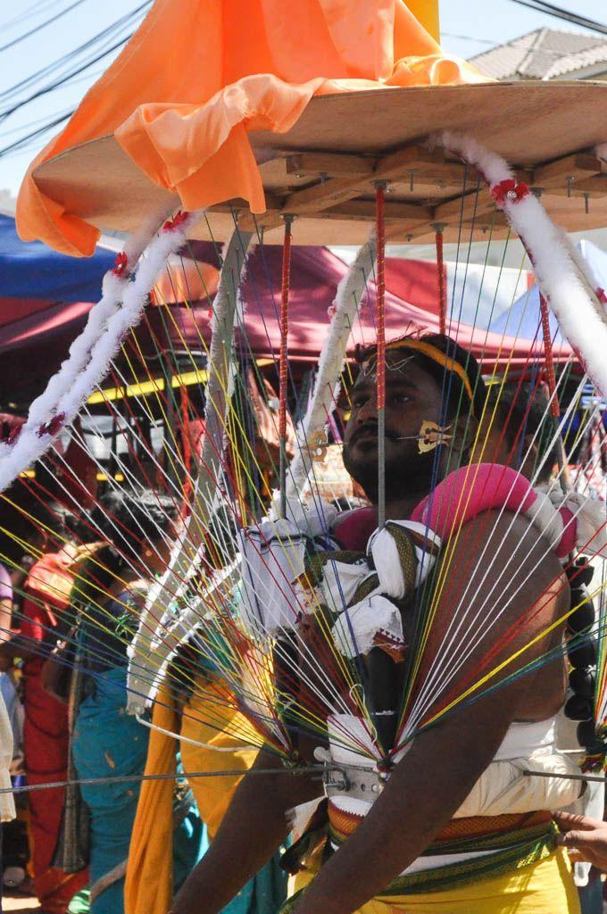 Celebrating Thaipusam, Malaysia's biggest Hindu festival, in Penang // www.hummingbirdaway.com
