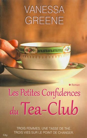 Trois femmes se rencontrent par hasard lors d'une brocante et tombent amoureuses d'un même service à thé en porcelaine. Elles décident de le partager : une sorte de club de thé est né, et surtout, une formidable amitié qui change leur vie à tout jamais. Premier roman.