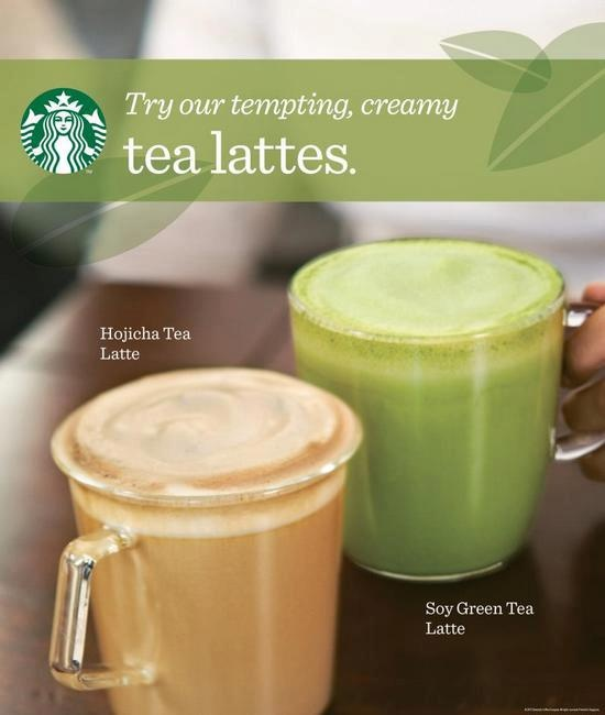 Try These Tempting, Creamy Tea Lattes At Starbucks