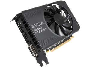 EVGA 02G-P4-3751-KR G-SYNC Support GeForce GTX 750 Ti 2GB 128-Bit GDDR5 PCI Express 3.0 Video Card -- I already got it.... Tee hee.