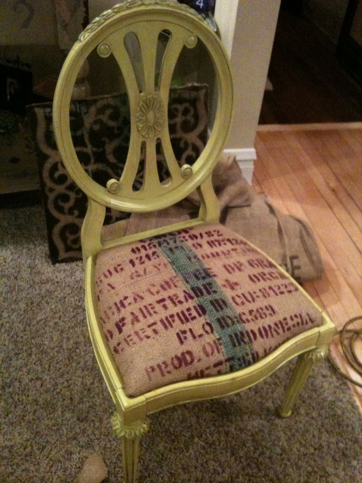 278 best coffee sack ideas images on pinterest coffee for Burlap bag craft ideas