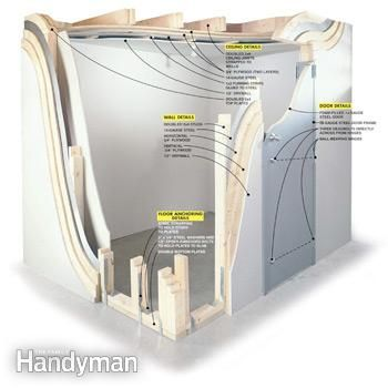 How to Build a Storm Shelter Build a super safe storm shelter right inside your own home.